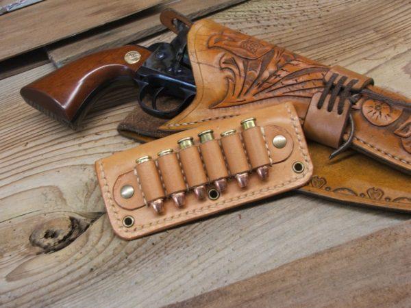Leather Bullet Slide