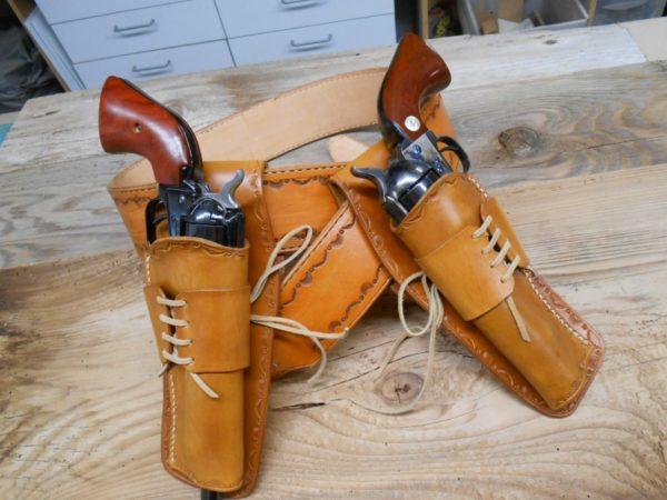 Leather Holster Colt